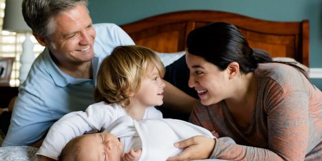 afvallen en gezin